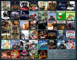 Game Aicon Pack 67 part 1 by HarryBana