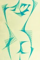 Cubism Geometric Study I by Hipsterscon