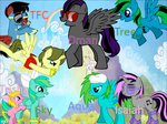 MLP Group (updated) by isaiahcow1