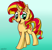 Sunset Shimmer by SentireAeris