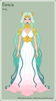 ToS - Damia Reference Sheet by porcelian-doll