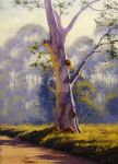 Megalong Gum by artsaus