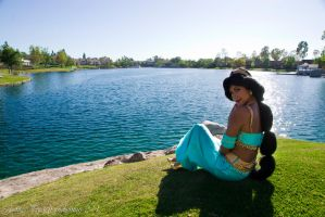 Jasmine by the shore by Endymius