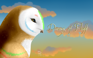 The Dreamer with text by Rawritron