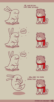 Rabbit and Crayon weekly comic - Explanation by DaveRabbit