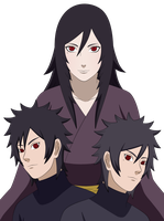 OC : The Uchiha Family by lymmny