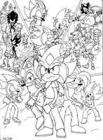 Chaos War Finale- Poster [Ink] by JohnTheBaratrian