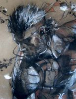 Naked Snake detail by devious101