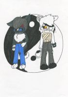 Axle and Javine by Sketching-Eclipse