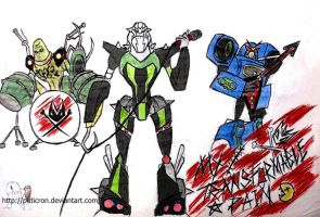 transformers: my transformable pain by puticron