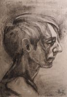 profile of a man 2014 by lupodirosso