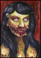 Zombie Doll by mooninthescorpio