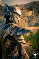 Skyrim Ebony Armor - cosplay photo No. 1 by Folkenstal