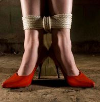 red shoes titled by raphaelclass