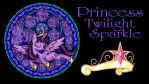 Princess Twilight Wallpaper by Akili-Amethyst