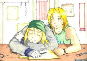 FMA - EdxWinry for Rosie by vidramidra