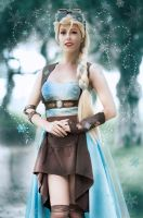 Elsa Steampunk Ice Queen by MissWeirdCat