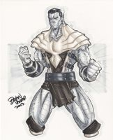 Colossus Copic by BrianVander
