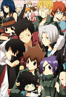 Katekyo Hitman Reborn family by kurot
