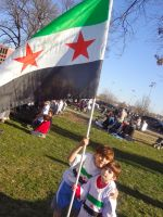 Syrian kids all about freedom! by mayaa199313