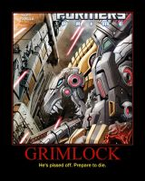 Rage of the Dinobots Issue 2 Poster by Onikage108