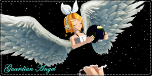 MMD CONTEST by RinKagamineLoveLen - Guardian angel by ShootingStarBlue