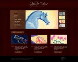 Painter Portfolio:: Template by princepal
