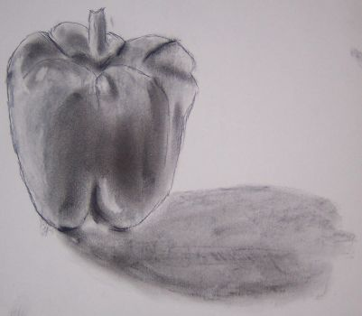 Upright Bell Pepper by oldbushie
