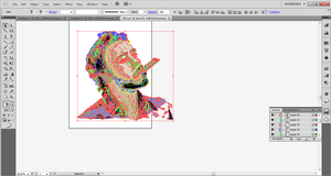 WIP #3: Robert Downey Jr. Polygons by SomeElixer