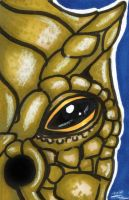 Bossk - Sketch Card by blue-but-beautiful
