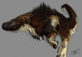 Windswept Utahraptor by WindsweptHells