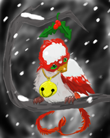All alone for Christmas by Scorched-FoxFire