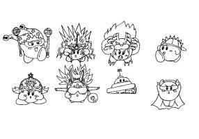 CONCEPT ART: KOoD - Kirby's Compound Abilities 2/2 by ChronoWeapon