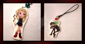 Harry Potter Phone Charms by thedustyphoenix