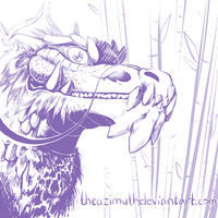 Bamboo Dragon by TheAzimuth