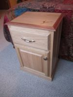 Hickory nightstand by DMSscroller