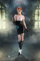 Dead Lotus Couture Librarian by Elisanth