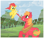 First Flight by ThePhoebster