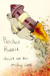 Rocket rabbit by PatentRose