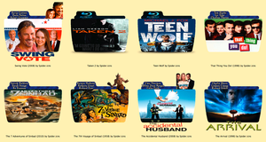 Movie Icon Pack 24 by Dule016
