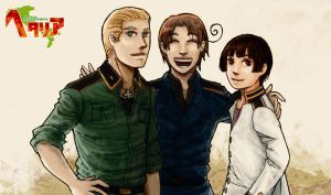 hetalia - axis powers by lackofsleep