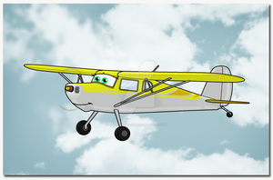 Ruby: Cessna 140 by TheAngryFishbed