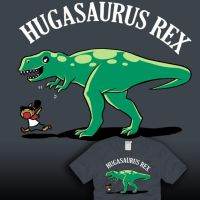 Hugasaurus Rex - NOW FOR SALE by amegoddess