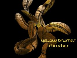 Yellow Brushes by aeonflux707