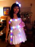 LED Party Dress by cherryteagirl