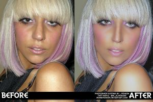 GAGA Before and after by MorePoison