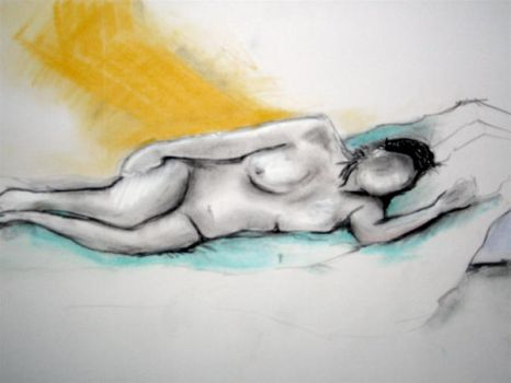 Life Drawing by opsmainframe