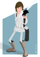 Luke Skywalker by Cranimation