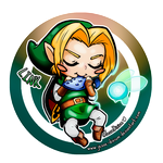 Link [The Legends of Zelda: Ocarina of Time] by Jesse-Dixium