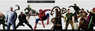 SPIDERMAN ROGUES GALLERY by vicariou5